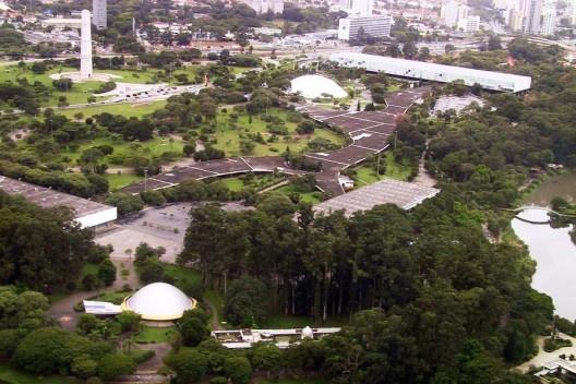 Parque do Ibirapuera, São Paulo<br />Foto Nelson Kon
