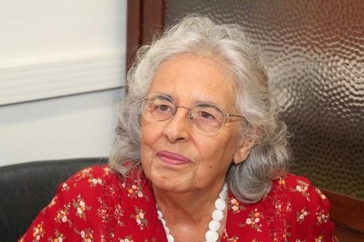 Ecléa Bosi (São Paulo, 1936 – São Paulo, 2017)<br />Foto Marcos Santos  [USP Imagens]