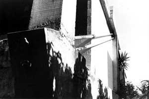 Res. Cleômenes Dias Batista, SP, 1964 – detalhe da estrutura<br />Foto de Félix Alves Araújo  [acervo FAUUSP]