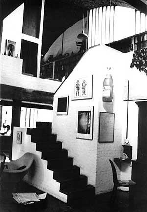 Res. Juarez Brandão Lopes, SP, 1968<br />Foto de Félix Alves Araújo  [acervo FAUUSP]