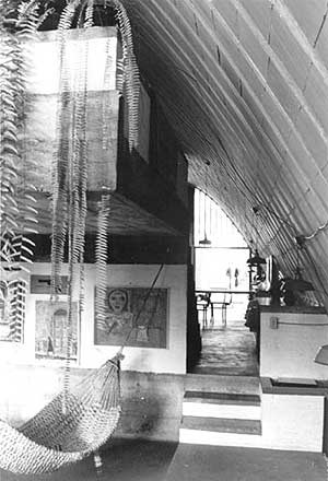 Res. Pery Campos, Santo Amaro, SP, 1970 – vista interna<br />Foto de Félix Alves Araújo  [acervo FAUUSP]