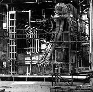 Fábrica abandonada em São Paulo. Foto Nelson Kon
