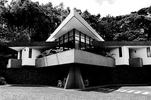 Residência Sumares, Rio de Janeiro, 1973<br />Foto Celso Brando