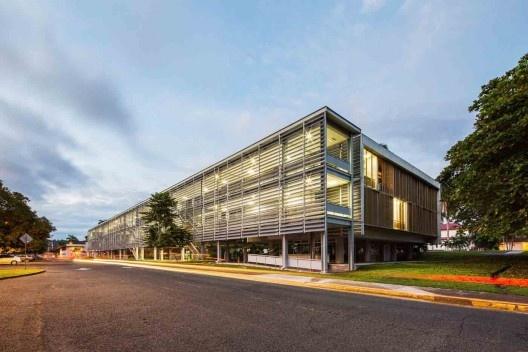 Dormitórios e alojamentos para professores e estudantes, Miraflores, Panamá, 2014. Sic Arquitetura<br />Foto Ana Mello
