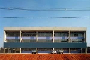 Projeto MMBB Arquitetos<br />Foto Nelson Kon