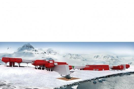 Estação Antártica Comandante Ferraz, menção honrosa. Arquiteta Anália Amorim