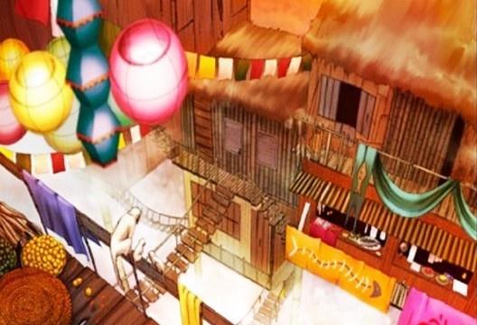 Processo de Criação e Representação da cidade de Zenobia, baseada no livro As Cidades Invisíveis de Ítalo Calvino (2016)<br />Elaboração Giulia Becker, Luan Bobato Daldim e Rita Patron