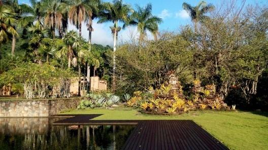 Jardins da Fazenda Vargem Grande. Paisagistas Roberto Burle Marx, Haruyoshi Ono e José Tabacow<br />Foto Guilherme Mazza Dourado, 2016