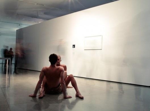 Performance, Museu de Arte Moderna, Parque do Ibirapuera, São Paulo<br />Foto divulgação  [Website MAM]