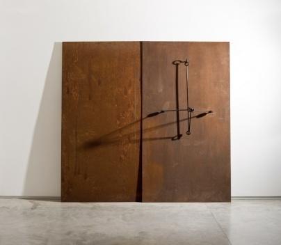 TP, escultura em cobre, 11X37X29cm. José Resende