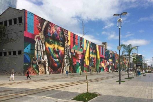Porto Maravilha, antiga área portuária, Rio de Janeiro<br />Foto Abilio Guerra