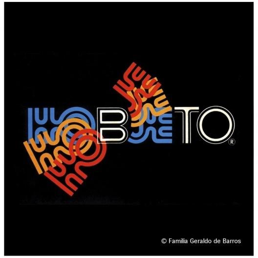 Terceiro logotipo da Hobjeto, Geraldo de Barros, s.d.<br />Acervo Geraldo de Barros  [© Fabiana e Lenora de Barros]