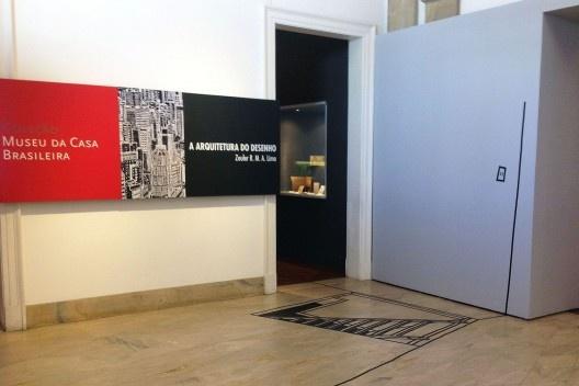 """""""Arquitetura do Desenho"""", MCB, Sala 1, São Paulo, 2012. <br />Foto Zeuler Lima"""