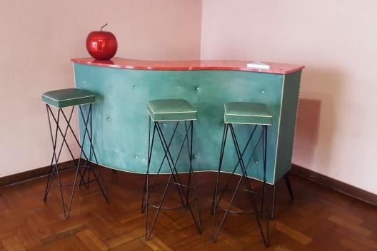 Residência Juscelino Kubistchek, bar, Belo Horizonte. Arquiteto Oscar Niemeyer<br />Foto Rose Guedes