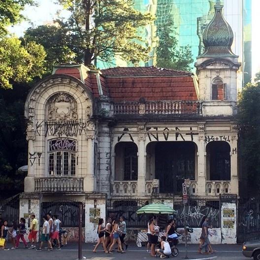 Casarão, Avenida Paulista, São Paulo<br />Foto Abilio Guerra
