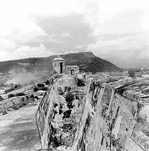 Castillo de San Felipe de Barajas. Cartagena de Indias. Colombia<br />Foto Mário José Buschiazzo