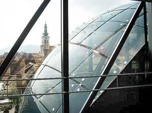 Kunsthaus, Peter Cook, Graz, 2003