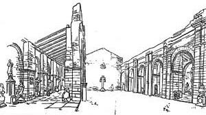 Projeto para o Museu de São Miguel das Missões – 2ª alternativa