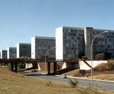 Ministérios no Eixo Monumetal de Brasília<br />Foto AG