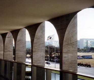 Palácio dos Arcos no Eixo Monumetal de Brasília<br />Foto AG