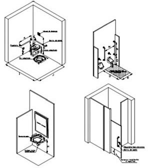Equipamentos – banheiros
