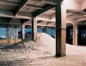Sem título, Laura Vinci, Arte/cidade 3 – A cidade e sua memória, São Paulo Brasil, 1998<br />Foto Nelson Kon