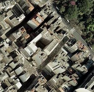 Figura 15 – Foto aérea mostrando ao centro o Edifício Califórnia