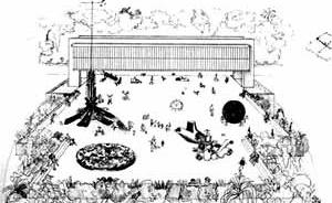 Estudo para Museu [Lina Bo Bardi. São Paulo: Instituto Lina Bo e P. M. Bardi, 1993]
