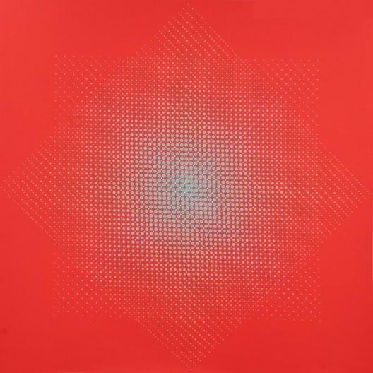 Almir Mavignier, <i>B-1</i>, 1973, serigrafia sobre PVC<br />Imagem divulgação