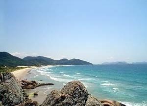 Praia da Garopaba, Santa Catarina<br />Foto Cláudia Rozental