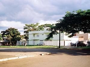 Quadra residencial em Brasília<br />Foto Raphael David