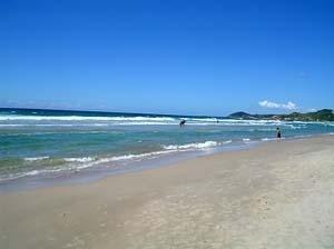 Praia da Ferrugem, Santa Catarina<br />Foto Cláudia Rozental