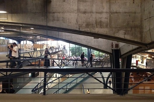 Centro Cultural de São Paulo, arquitetos Eurico Prado Lopes e Luiz Benedito Castro Telles<br />Foto Abilio Guerra