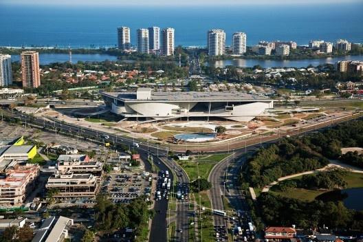 legenda  Cidade da Música na Barra da Tijuca, Rio de Janeiro. Arquiteto Christian de Portzamparc<br />Foto Nelson Kon