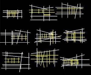 Popularização da arquitetura moderna. Diagramas