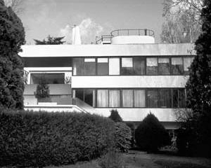 Villa Stein, Garches. Le Corbusier, 1927. Fachada do Jardim