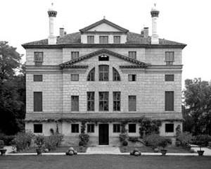 La Malcontenta – Villa Foscari, Malcontenta di Mira. Andrea Palladio, 1558/60. Fachada para o jardim