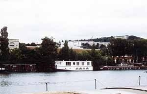 Peniche, vista margem esquerda do rio Sena