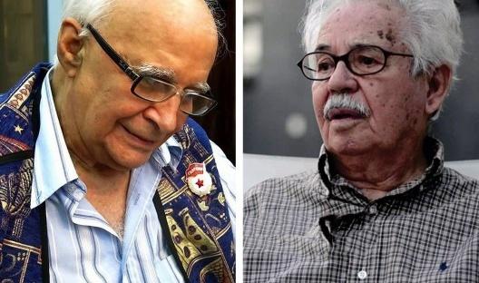 João Carlos Teixeira Gomes (Salvador, 9 de março de 1936 – Salvador, 18 de junho de 2020) e Luis Henrique Dias Tavares (Nazaré, 25 de janeiro de 1926 — Salvador, 22 de junho de 2020)<br />Fotos divulgação