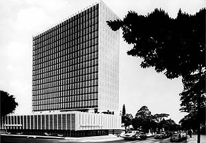 Sede do Banco Sul-Americano (atual Itaú) [Acervo Digital Rino Levi, FAU PUC-Campinas]