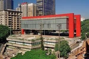 MASP, São Paulo, 1957. Arquiteta Lina Bo Bardi<br />Foto Nelson Kon
