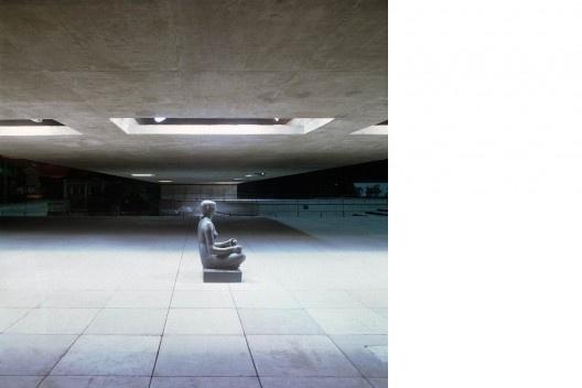 Museu Brasileiro da Escultura – Mube, São Paulo, 1995<br />Foto Nelson Kon