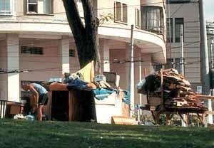 Moradores de rua<br />Foto NK
