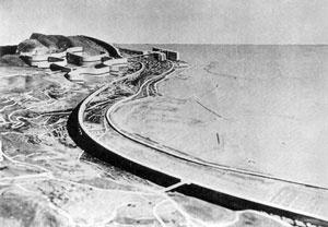 Le Corbusier, Plano Obus, Argel, 193 [BOESIGER, Willy, Le Corbusier, Barcelona, Gustavo Gili, 1980]