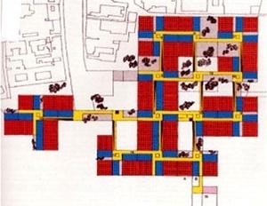Le Corbusier, Hospital de Veneza, 1964 [www.buildingsrus.co.uk/precedent.htm]