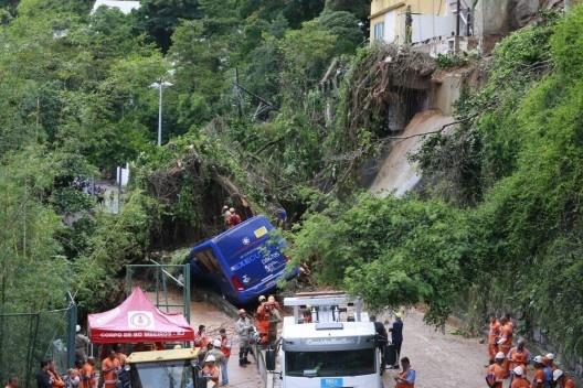 Danos causados por enchente no Rio de Janeiro<br />Foto Tânia Rêgo  [Agência Brasil]