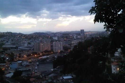 Vista do centro do Rio a partir de Santa Tereza<br />Foto Abilio Guerra