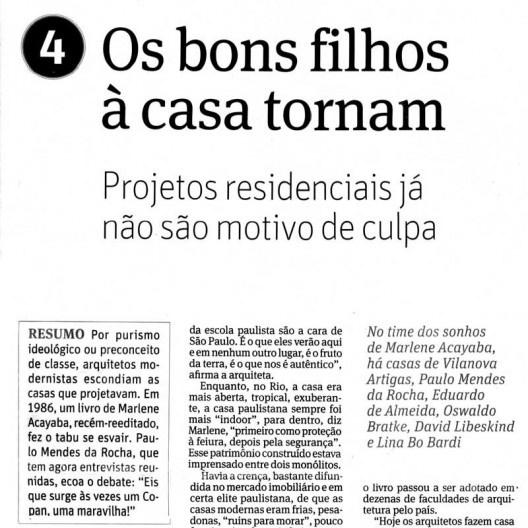 Artigo de Raul Juste Lores sobre livro de arquitetura, publicado no caderno Ilustríssima do jornal Folha de S.Paulo<br />Imagem divulgação