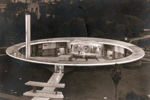 Auditório Araújo Vianna, Porto Alegre, Carlos Maximiliano Fayet, Moacyr Moojen Marques,1960 [Acervo MooMAA]