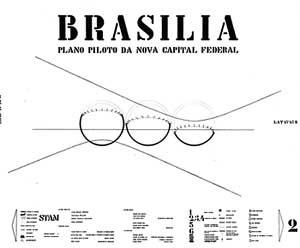 Plano Piloto de Brasília, 1957